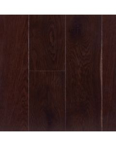 VINTAGE WHITE OAK FUMED SOLID SAWN STRUCTURED CHARACTER BLACK OAK PEARL FINISH