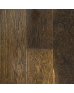 VINTAGE WHITE OAK FUMED SOLID SAWN STRUCTURED CHARACTER OLD OAK OIL FINISH