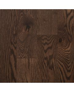 VINTAGE RED OAK WIRE BRUSHED NORTHERN SOLID SAWN STRUCTURED CHARACTER OIL-Berkshire-6-1/2""