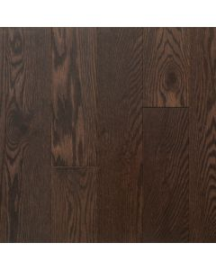 """VINTAGE RED OAK WIRE BRUSHED NORTHERN SOLID SAWN STRUCTURED CHARACTER OIL-Angora-6-1/2"""""""