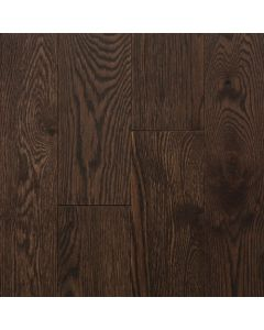 """VINTAGE RED OAK WIRE BRUSHED NORTHERN SOLID SAWN STRUCTURED CHARACTER OIL-Cocoa-5"""""""