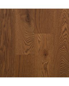 """VINTAGE RED OAK WIRE BRUSHED PIONEERED SOLID HERITAGE OIL-Kahlua-3 1/4"""""""