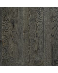 """VINTAGE RED OAK WIRE BRUSHED NORTHERN SOLID SAWN STRUCTURED CHARACTER OIL-Pewter-5"""""""